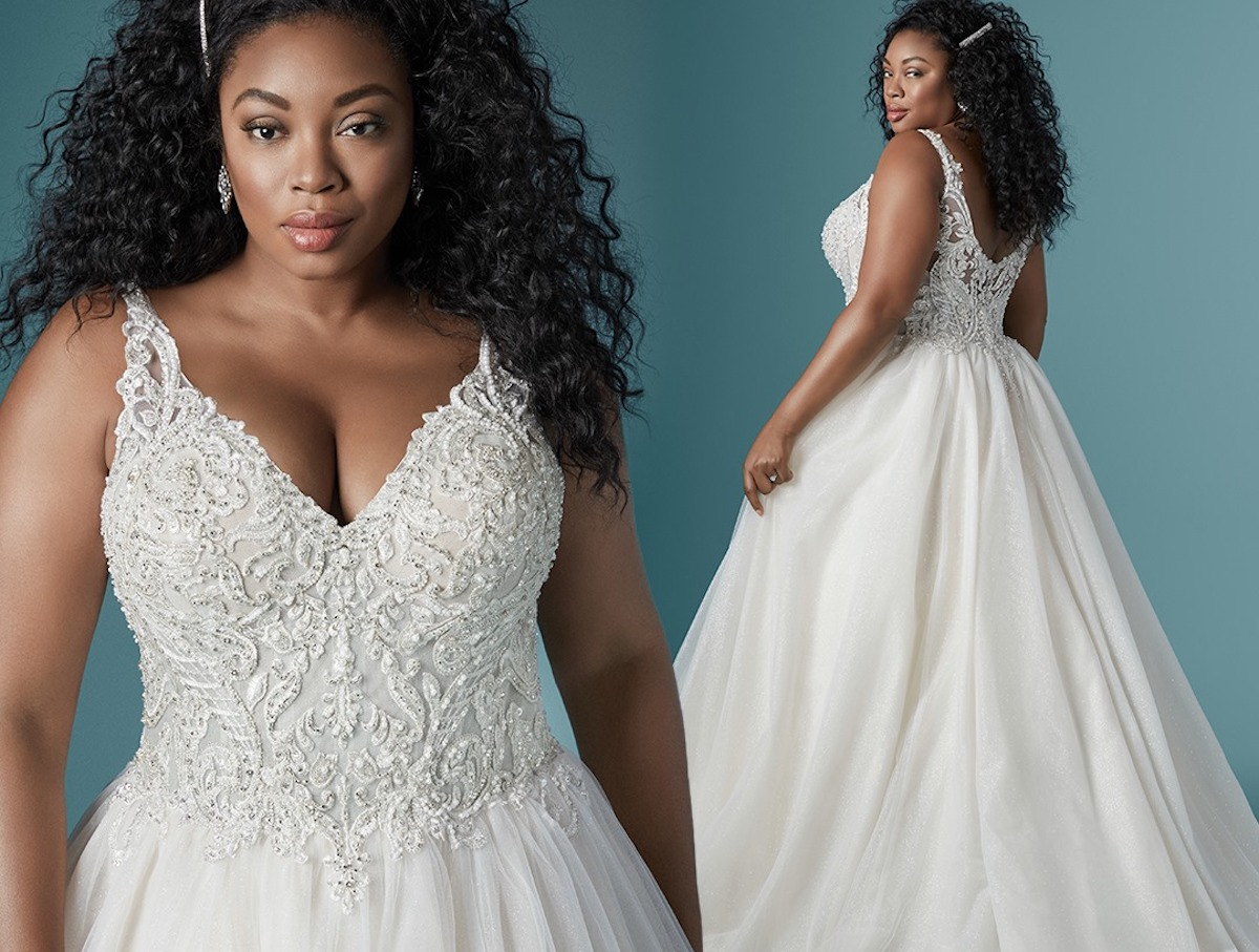 2020 Plus Size Wedding Dress Styles For The Curvy Bride