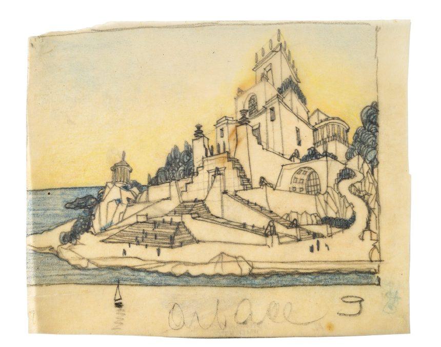 L'isola delle scale, Giavazzi-Sant'Elia