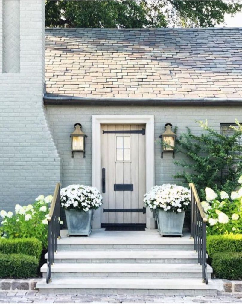 My Favorite Painted Brick Exterior Paints on Brick House Painting Ideas  id=66099