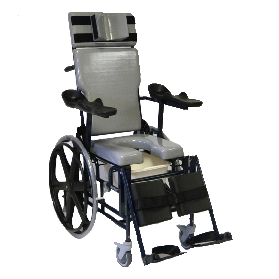 Activeaid Traum Aid Reclining Shower Chair With Commode