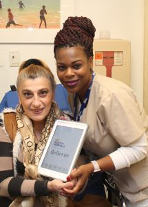 Bellevue and Auxiliary to Bellevue Hospital Launch iPad Program for Cancer Center