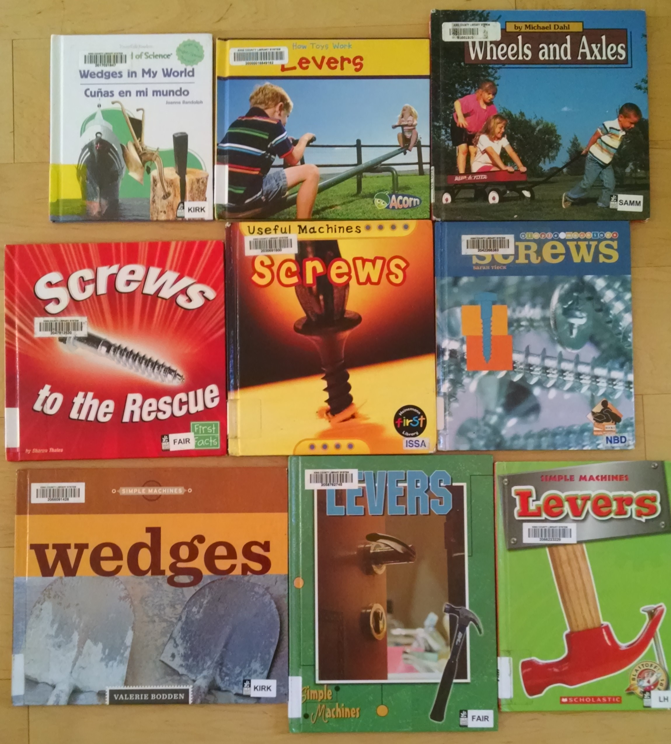 Book Series About Simple Machines