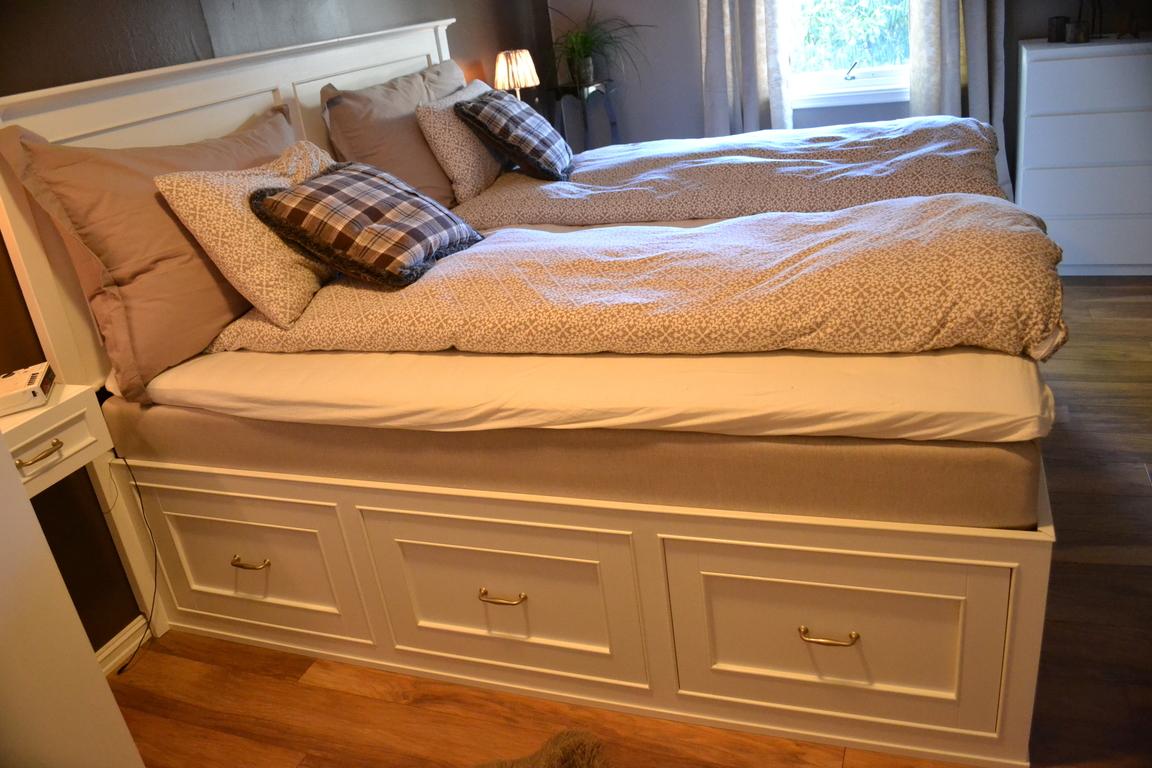 Building a King Size Platform Bed with Storage - Bellevue ...