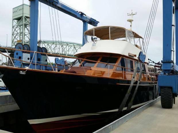 boat cabin renovation