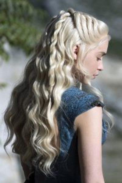 Une autre coiffure de Khaleesi, pour le plaisir