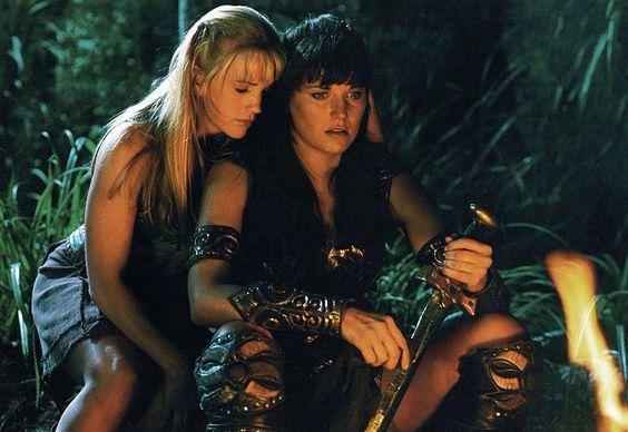 Xena et Gabrielle, amies pour la vie