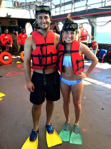 Honeymoon in Punta Cana - snorkling