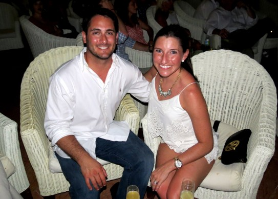 Honeymoon in Punta Cana - at a show
