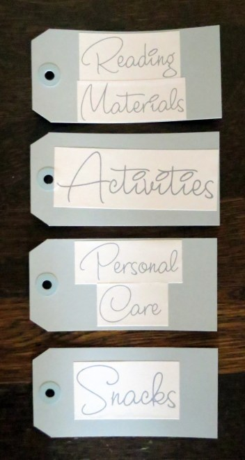 Hospital Care Pakcage - Tag printouts