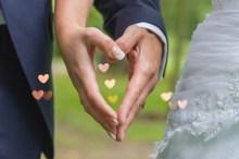 Hand in Hand oder Herz an Herz