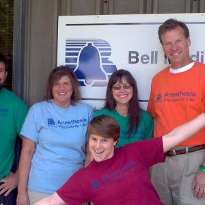 """Bell Medical """"Sleep With the Best"""" T-shirt"""