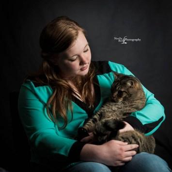Senior Pictures Knoxville TN, Senior Portrait Photography, Outdoor Pictures, Senior Pics, Senior Girl, Pets, Cat, Furry Friends