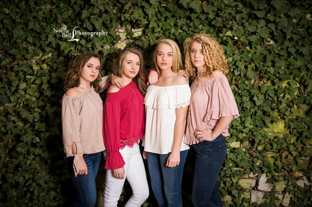 The Knoxville Botanical Garden and Arboretum, teen photo shoot, class of 2021, 8th grade pictures