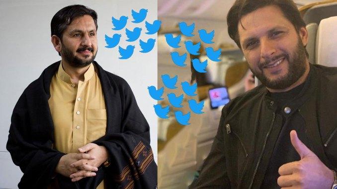 Shahid Afridi responds to Saleem Safi