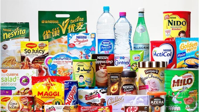 Nestle Products Unhealthy