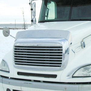 Trux Accessories Hoodshield Bug Deflector for Freightliner Columbia