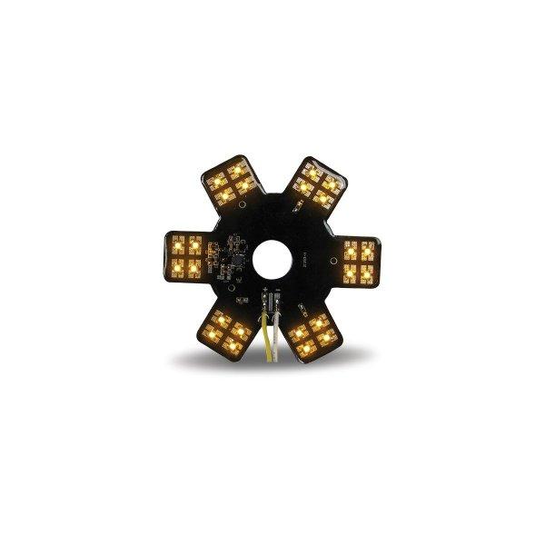 Bells-And-Whistles-Chrome-Shop-Trucks-Aftermarket-Accessories-Lighting-Trux-Accessories-Amber-LED-Star-Light--Peterbilt-Kenworth-Freightliner-Mack-Volvo-Lonestar