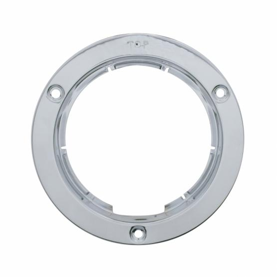 """United Pacific 4"""" Stainless Mounting Bezel"""