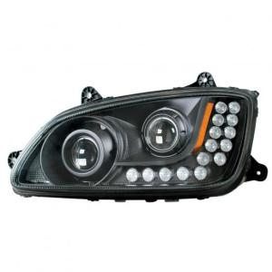 "United Pacific ""Blackout"" Kenworth T660 Projection Headlight Assembly"