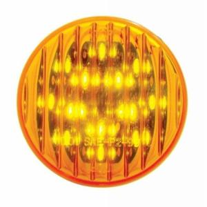 "United Pacific 13 LED 2 1/2"" Clearance/Marker Light - Amber LED/Amber Lens"