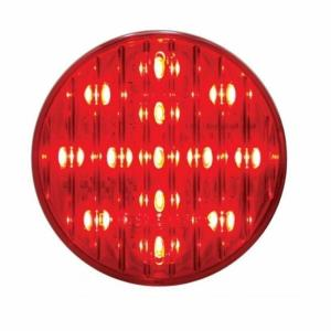 "United Pacific 13 LED 2 1/2"" Clearance/Marker Light - Red LED/Red Lens- On"