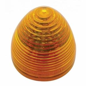 "United Pacific 2 1/2"" Amber Beehive Clearance/Marker Light- Off"