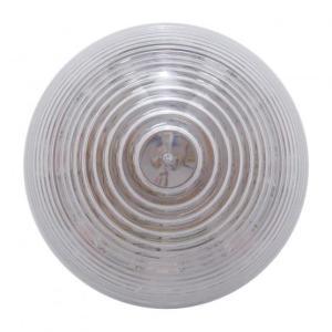 Bells-And-Whistles-Chrome-Shop-Trucks-Aftermarket-Accessories-Lighting-United Pacific-Amber LED Clear Lens Beehive Marker Light-Peterbilt-Kenworth-Freightliner-Mack-Volvo-Lonestar