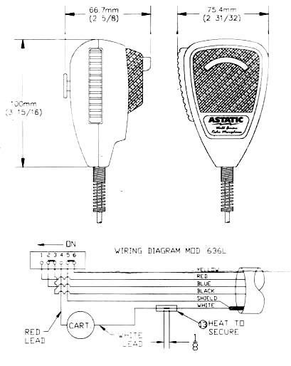 bearcat cb radio microphone wiring diagram wiring diagram