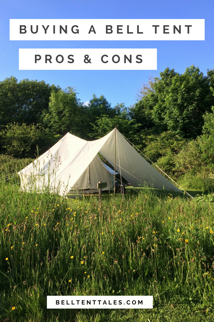 Solice I Bell Tent and canopy