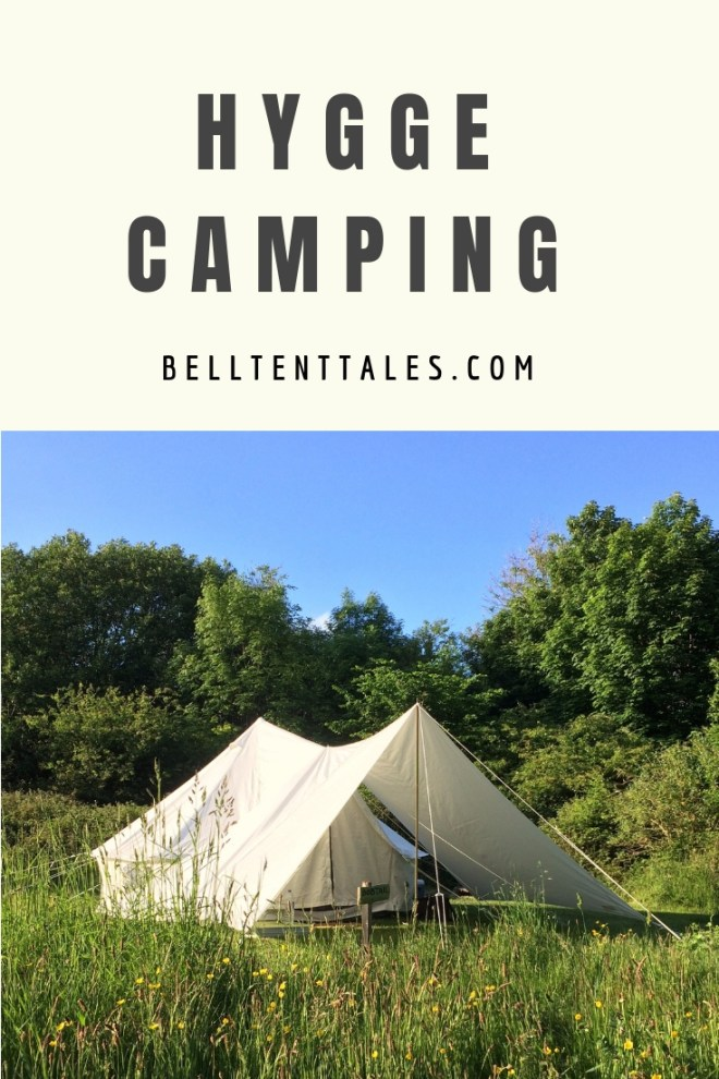 Hygge Camping | Bell tent in a meadow