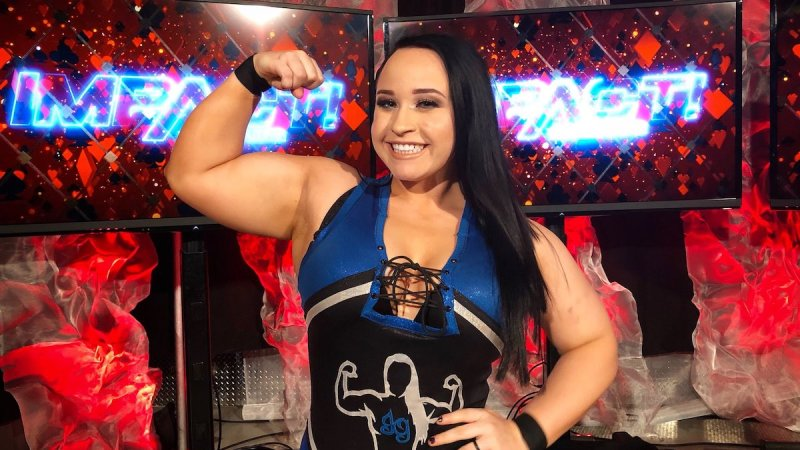 Jordynne Grace officially signs with Impact Wrestling