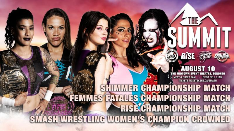 Smash Wrestling to crown their first women's champion