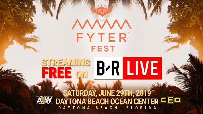 AEW's Fyter Fest will stream for free on B/R Live