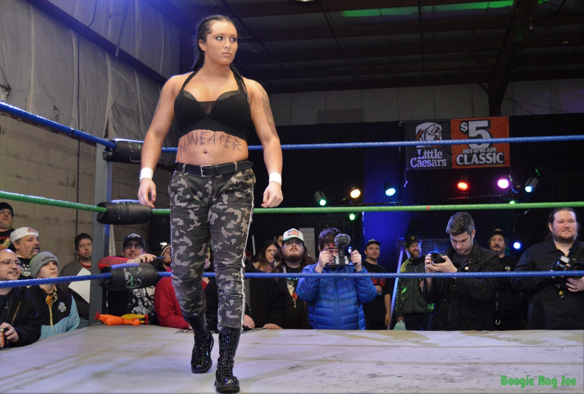 Maria Manic resigns with Ring of Honor