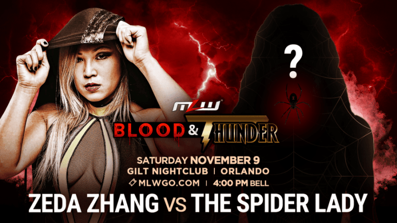 MLW announces Zeda Zhang's first opponent
