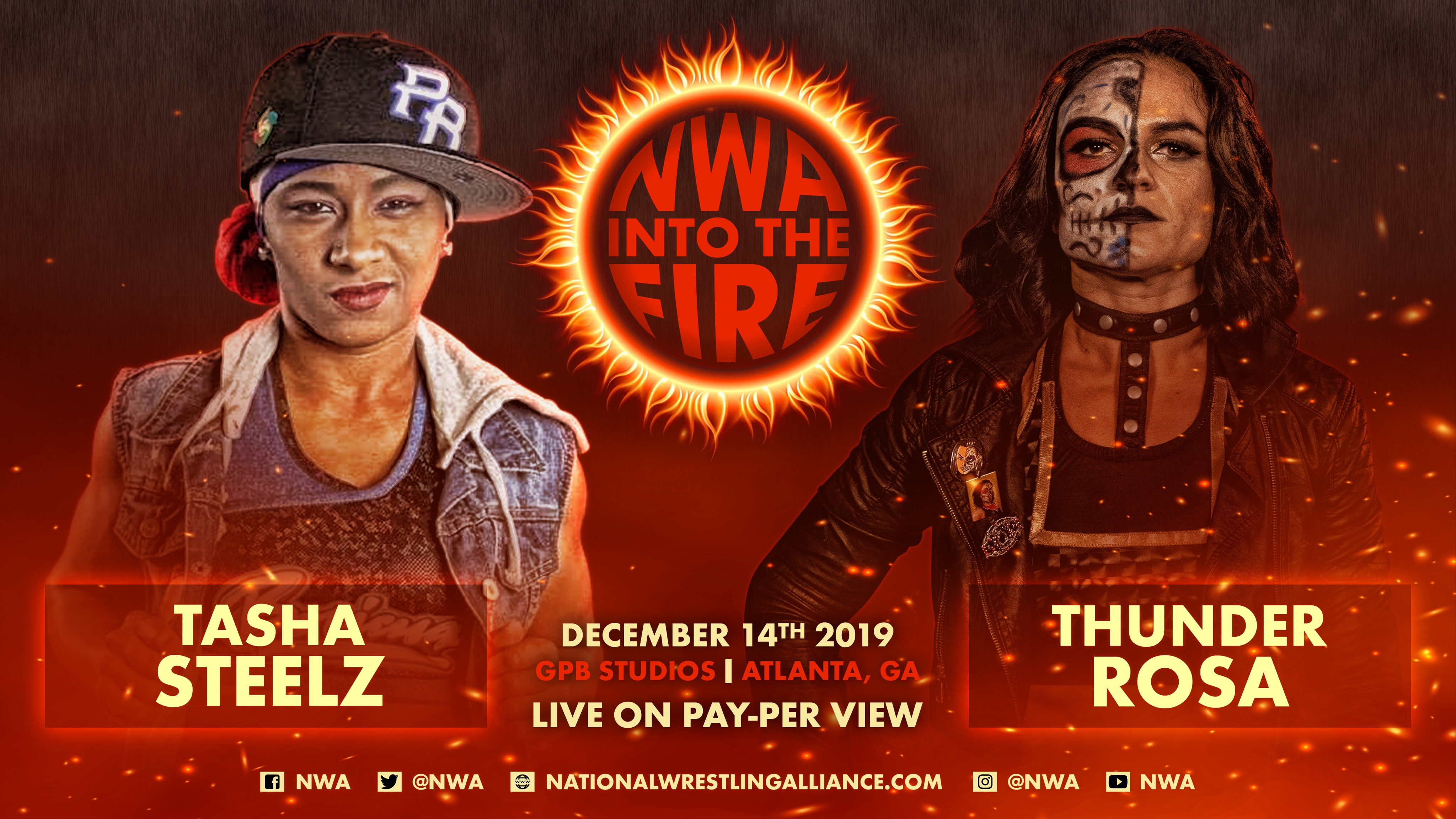 Tasha Steelz vs. Thunder Rosa added to NWA Into the Fire