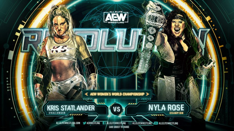 Kris Statlander vs. Nyla Rose set for AEW Revolution