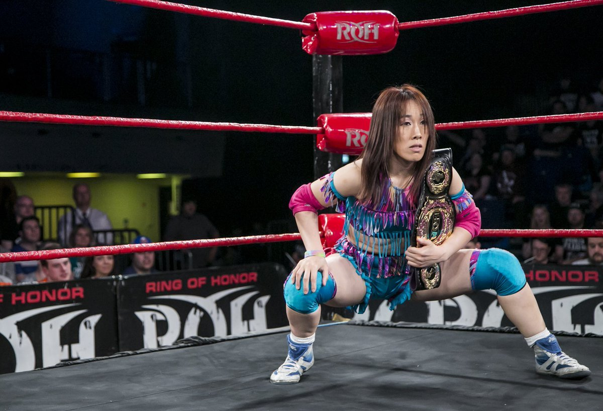 ROH adds Sumie Sakai to Women's World Championship tournament