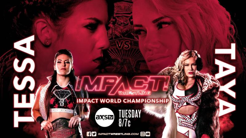 Taya Valkyrie to challenge for the IMPACT world title