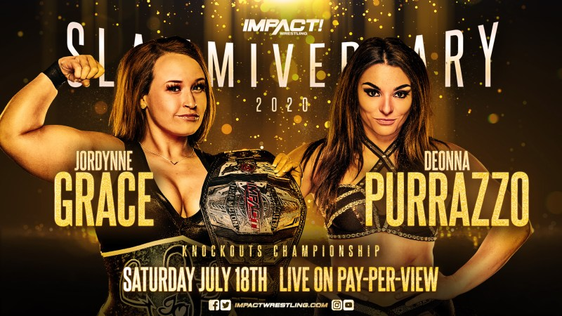 Knockouts title match announced for Slammiversary 2020