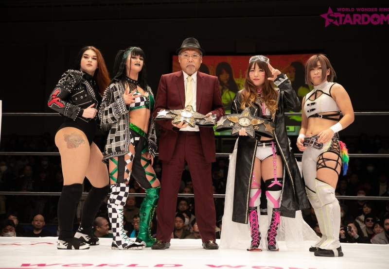 Goddess of Stardom Champions