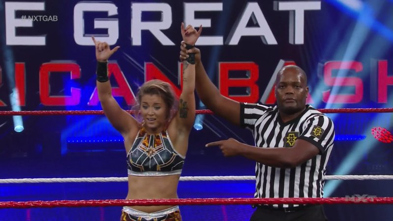 Tegan Nox wins No. 1 Contender Match, Street Fight announced