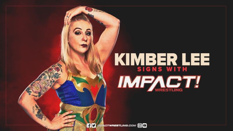 IMPACT Wrestling officially signs Kimber Lee