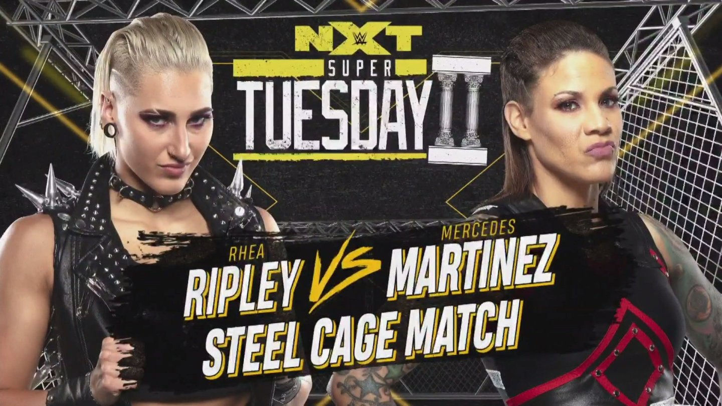 Rhea Ripley vs. Mercedes Martinez