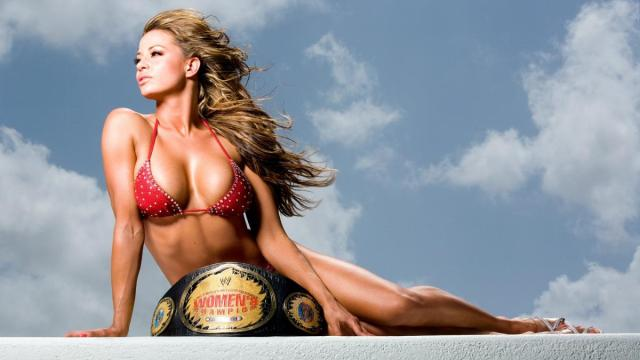 WWE Latin Mexican Candice Michelle