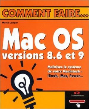 Mac OS versions 8.6 et 9