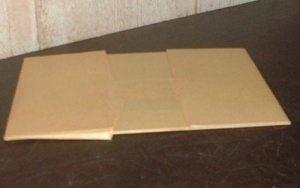 Plaque de zinc 10 x 14 cm