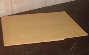 Plaque de zinc 15 x 20 cm