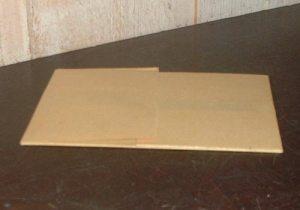 Plaque de zinc 9 x 12 cm