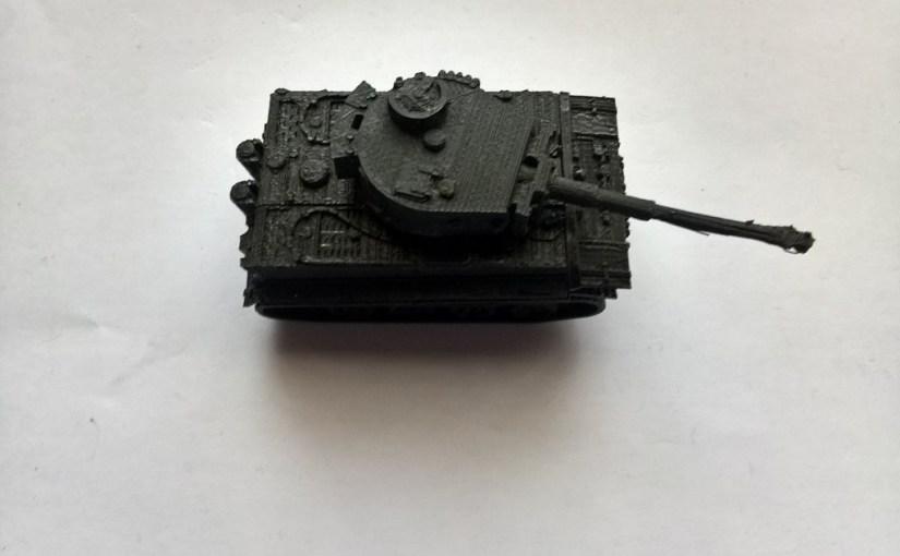 Modellino Tiger Tank